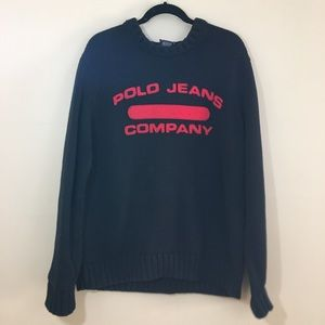 Vintage Ralph Lauren Polo Jeans Company Sweater XL